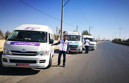 تصویر از امداد رسانی سازمان بهزیستی استان یزد به مناطق زلزله زده غرب کشور / اعزام سه دستگاه خودرو اورژانس خدمات سیار اجتماعی