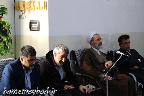 تصویر از نشست صمیمانه امام جمعه میبد با مسئولین مراکز توانبخشی این شهرستان / حفظ کرامت و جایگاه انسانی معلولین در جامعه