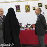 بازدید مسئولین شهرستان میبد از نمایشگاه توانمندیهای معلولین