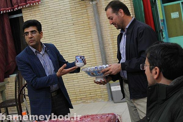Photo of دورهمی اعضای انجمن های  خوشنویسی میبد و اردکان در کانون شهید رجایی میبد