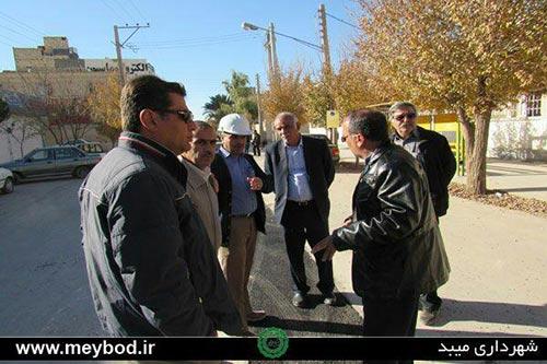 Photo of شهردار میبد از پروژه فاضلاب شهری بازدید نمود / لزوم پاسخگویی پیمانکار برای مشکلاتی که در طرح فاضلاب در آینده به وجود می آید