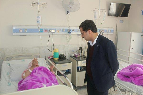 Photo of بیمارستان امام جعفر صادق (ع) شهرستان میبد مورد ارزیابی قرار گرفت