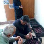 سومین دوره کلاسهای آموزشی با موضوع کاشت و پررورش گل سنبل در اداره جهاد کشاورزی میبد
