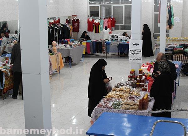 Photo of برگزاری نمایشگاه بانوان کارآفرین و توانمند میبدی در محله محمود آباد این شهرستان
