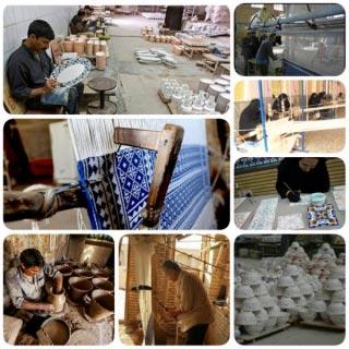 تصویر از کارگاههای صنایع دستی شهرستان میبد در فضای مجازی معرفی می شوند