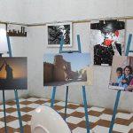تصاویری از برگزاری نمایشگاه فریاد قلم در فرهنگسرای میبد