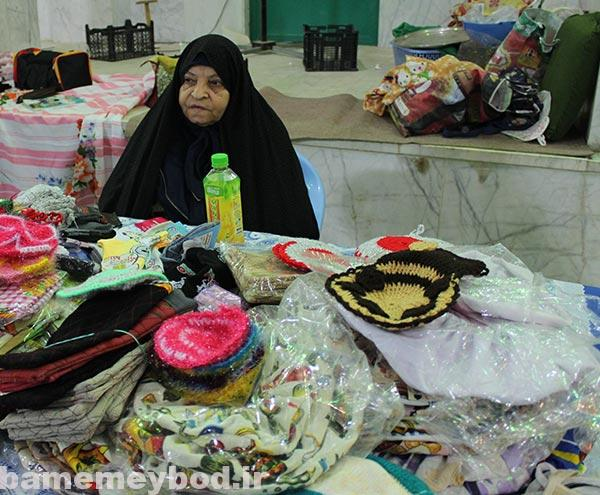 تصویر از برگزاری نمایشگاه دست آوردهای بانوان کارآفرین در حسینیه انصار بفروئیه