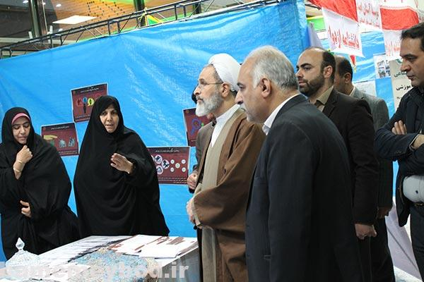 تصویر از تصاویری از اختتامیه نمایشگاه خانواده موفق در مصلی آیت الله اعرافی