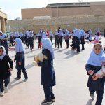 تصاویری از روزی آزاد و بدون درس در آموزشگاه بی بی خدیجه ابطحی میبد