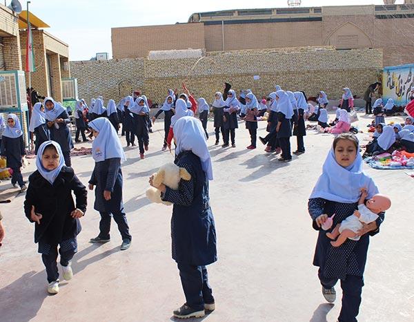 Photo of تصاویری از روزی آزاد و بدون درس در آموزشگاه بی بی خدیجه ابطحی میبد