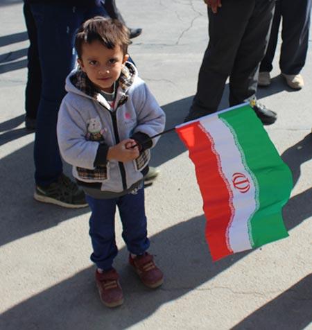 تصاویری از حضور حماسه آفرین و پر شور مردم شهرستان میبد در راهپیمایی ۲۲ بهمن/ بخش اول
