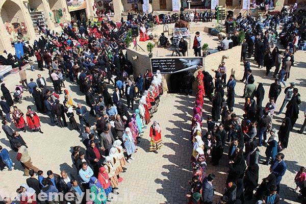 """Photo of تصاویری از نمایش توانمندیهای بانوان ایرانی در چهارمین جشنواره ملی """" حرکت و برکت"""" در میبد /بخش دوم"""