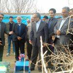 طرح آبياري نوين در۱۲۲ هكتار اراضي كشاورزي ميبد افتتاح گردید