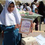 برگزاری بازارچه مهر نیکوکاری به همت دبستان دخترانه مهر ایران زمین در میبد