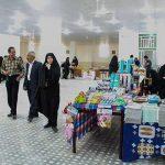 برگزاری نمایشگاه صنایع دستی بانوان در مهمانسرای رکن آباد شهرستان میبد