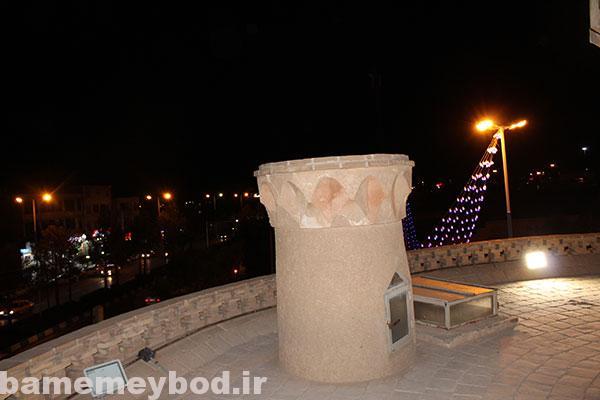 تصویر از تصاویری از برج کبوتر خانه میبد