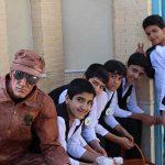 تصاویری از برگزاری جشنواره گل محمدی به همراه گلاب گیری در شهرک صنعتی جهان آباد میبد