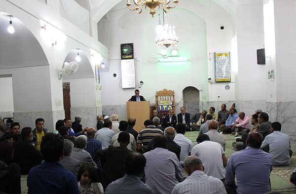تصویر از برگزاری جلسه پرسش و پاسخ مسئولان میبد با مردم شهر بفروئیه