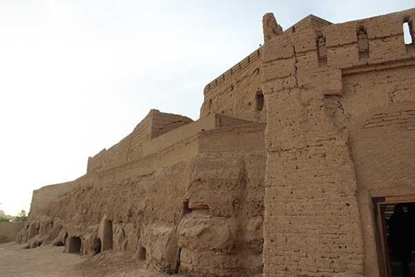 تصویر از نارین قلعه میبد هر ساله مورد بازدید گردشگران به خصوص در ایام نوروز است