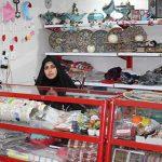 فروشگاهی با شعار حمایت از صنایع دستی و مشاغل خانگی در میبد