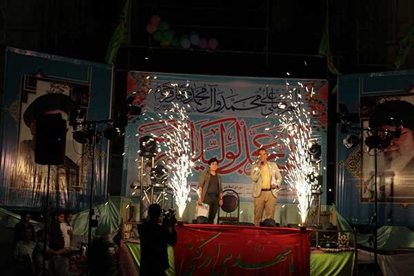 تصویر از تصاویری از برگزاری جشن بزرگ گل نرگس در مصلی آیت الله اعرافی میبد