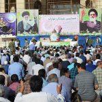 تصاویری از برگزاری شکوهمند نماز عید سعید فطر در شهرستان میبد