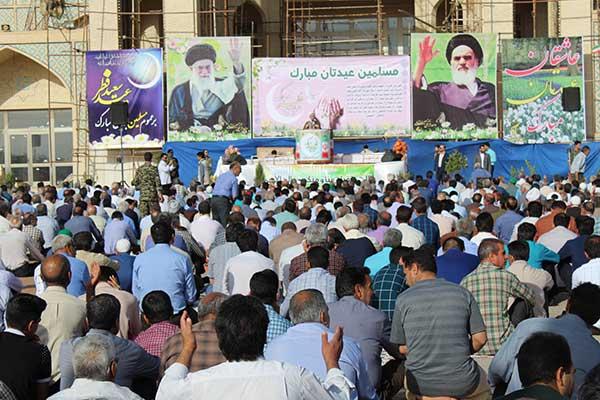 تصویر از تصاویری از برگزاری شکوهمند نماز عید سعید فطر در شهرستان میبد