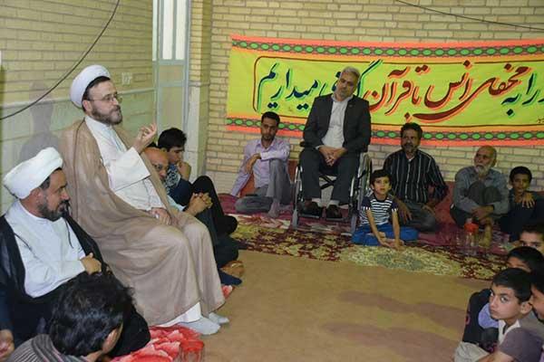 Photo of برگزاری جلسه جزءخوانی قرآن مجید در حجت آباد میبد