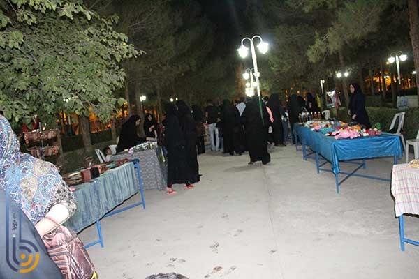 Photo of برگزاری نمایشگاهی از توانمندی های بانوان میبدی در پارک بهاران میبد