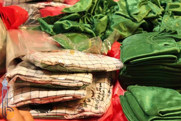 Photo of آماده سازی و بسته بندی پنج هزار دست لباس حضرت علی اصغر (ع) در میبد