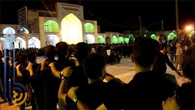 تصویر از اشعار شب پنجم مراسم شاه حسن شاه حسین در امامزاده سید صدر الدین قنبر میبد