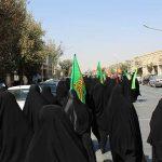 تصاویری از گردهمایی و رزمایش ۲۰ هزار نفری بسیجیان محمد رسول الله در استان یزد/بخش اول