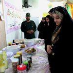 افتتاح کارگاه و نمایشگاه  تاب آوری بانوان در شهیدیه میبد