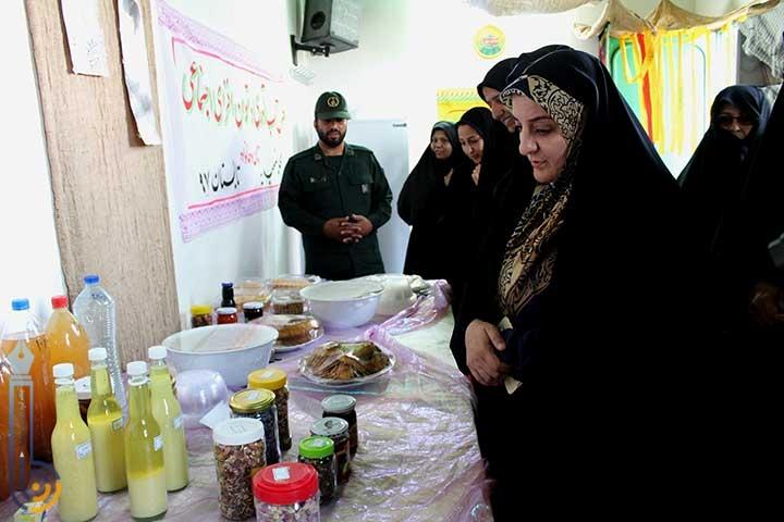 Photo of افتتاح کارگاه و نمایشگاه تاب آوری بانوان در شهیدیه میبد