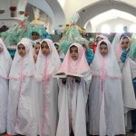 مراسم جشن تکریم سالمندان به مناسبت هفته سالمند و نیز هفته ملی کودک در امامزاده میر شمس الحق میبد