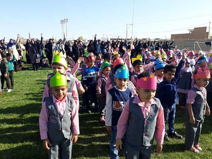 برگزاری جشنواره ورزشی مادر و کودک به مناسبت روز جهانی کودک