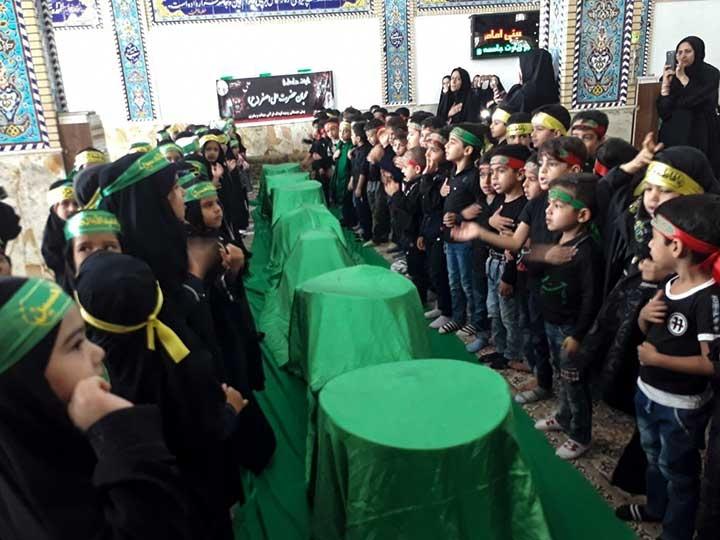 Photo of همایش سه ساله حسینی در بیت الزهرای بشنیغان میبد