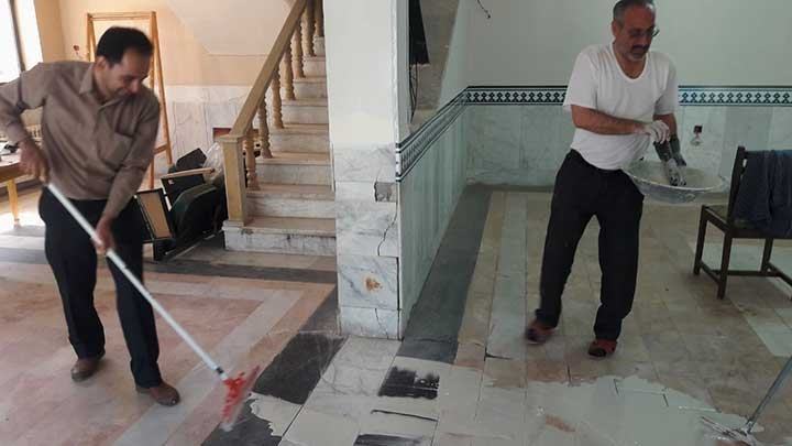 تصویر از آماده سازی مجموعه تئاترِ شهر خورشید جهت بهره برداری و افتتاح