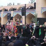 مراسم سوگواری حضرت رقیه (س) در امامزاده سید صدر الدین قنبر میبد