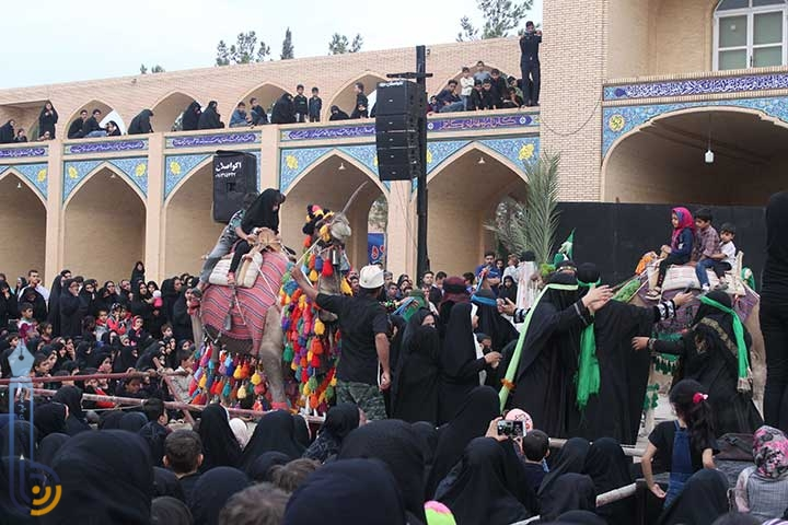 Photo of مراسم سوگواری حضرت رقیه (س) در امامزاده سید صدر الدین قنبر میبد