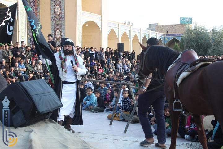 تصویر از تصاویری از برگزاری عزاداری اربعین حسینی در امامزاده سید صدر الدین قنبر میبد