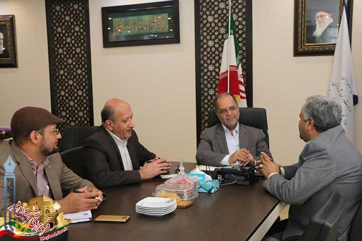 Photo of نشست فرماندار میبد با مدیرکل راه و شهرسازی استان یزد