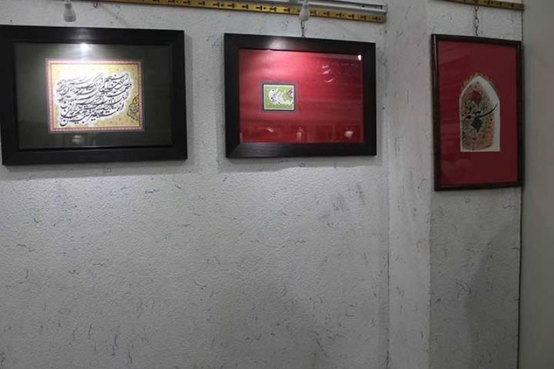 Photo of نمایشگاه خوشنویسی در میبد گشایش یافت