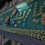 پخت حلوای آردی معروف به آش زینب در پایگاه مقاومت بسیج ساجده میبد