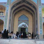 جشنواره صنایع دستی بانوان در امامزاده سید صدر الدین قنبر میبد شروع به کار نمود