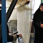 بانوی عضو شورای شهر میبد جهانی شدن زیلوی میبد را تبریک گفت