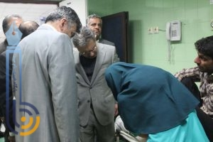 بازدید معاون وزارت بهداشت از بیمارستان امام جعفر صادق(ع) میبد/تصاویر