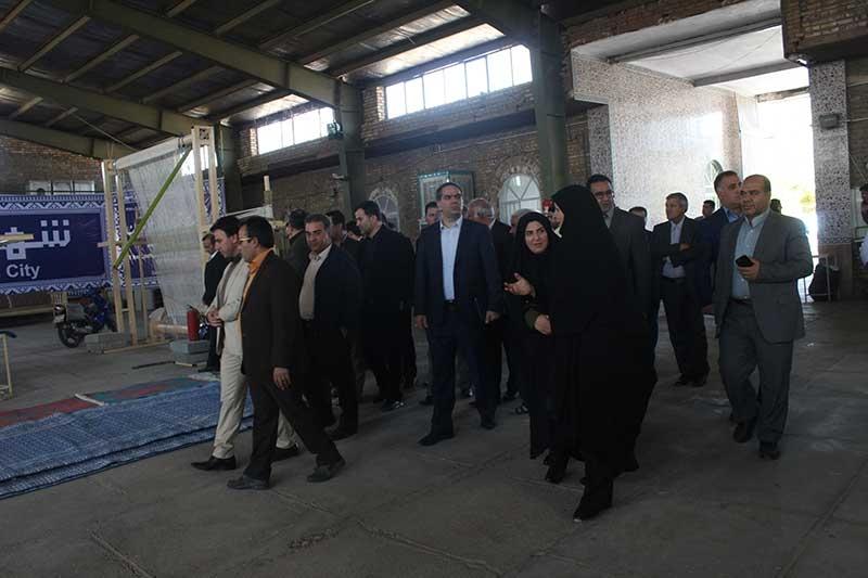 Photo of شهرداران تهران از شهر تاریخی میبد بازدید کردند