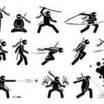 اجرای حرکات رزمی توسط سنسی معین ابوالحسنی