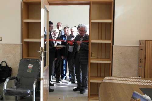 تصویر از افتتاح دفتر ارتباط با صنعت دانشگاه میبد در شهرک صنعتی